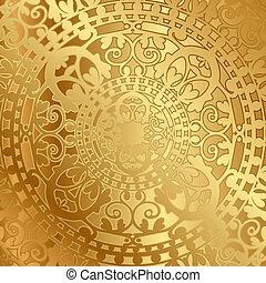 dekoration, orientalsk, baggrund