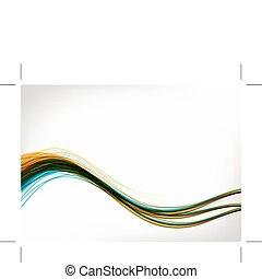 din, baggrund, konstruktion, abstrakt
