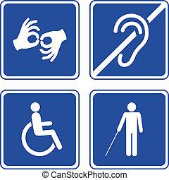 disabled, tegn