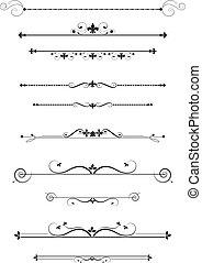 dividers, ornamental