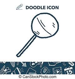 doodle, affattelseen, slik