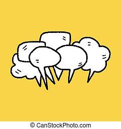 doodle, samtalen, folk