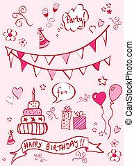 doodles, fødselsdag