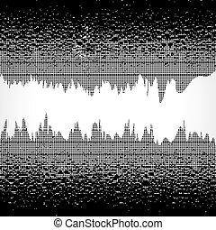drops., grunge, baggrund