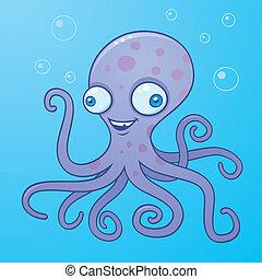 dumme, blæksprutte