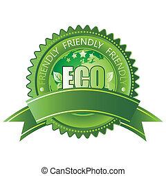 eco-friendly, ikon
