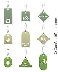 eco, genbrug, tags