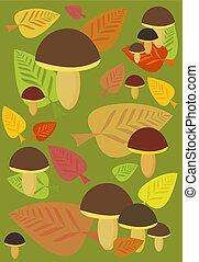 efterår, baggrund