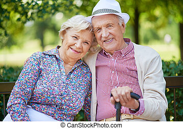 elderly folk