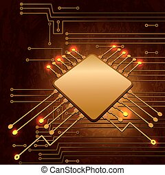 elektronisk strømkreds