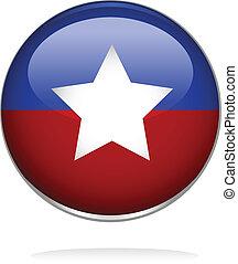 emblem, facon, stjerne, illustration