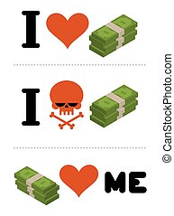 emblem, ligesom, kranium, dollare, me., penge., financiers., indkassere., finansielle, anti, logo, ikke, constitutions, had, symbol