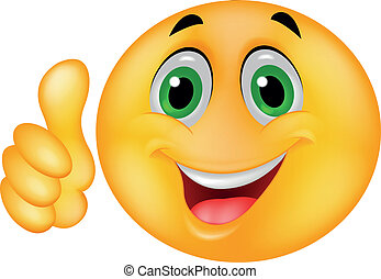 emoticon, glade, smiley ansigt