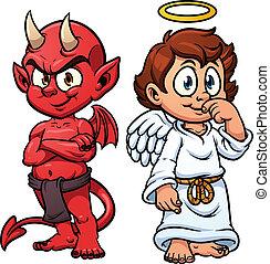 engel, djævel