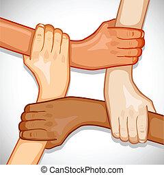 enhed, hænder