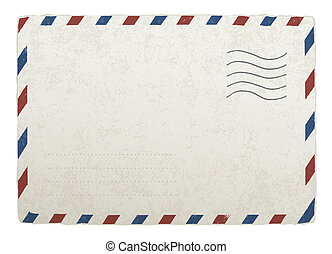 envelope., 10., vinhøst, konstruktioner, eps, vektor, skabelon, mailing, din