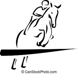 equestrian, sport