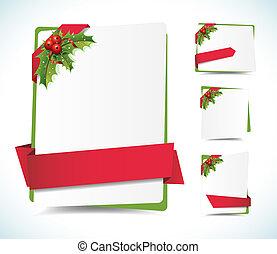 etiketter, jul, baggrund