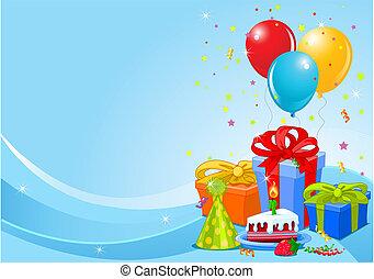 fødselsdag gilder, baggrund