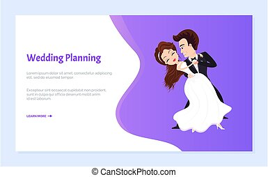 først, bryllup, soignere, brud, planlægning, dans