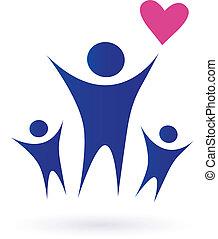familie, sundhed, samfund, iconerne