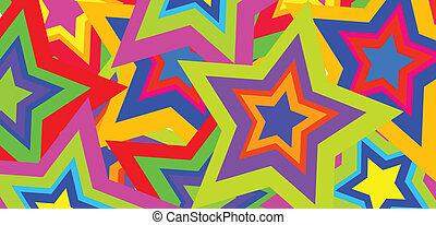 farve, abstrakt, vektor, baggrund