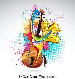 farve, musik