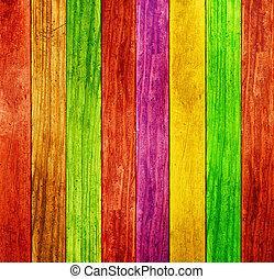 farve, træ, baggrund