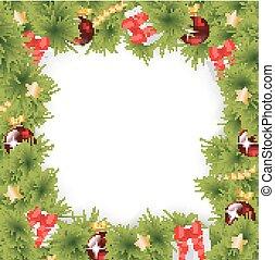 firkantet, jul, baggrund