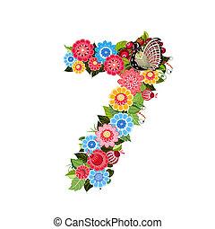 firmanavnet, blomst, khokhloma, antal, fugle