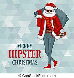 firmanavnet, claus, hipster, santa