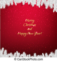 firtree, card christmas