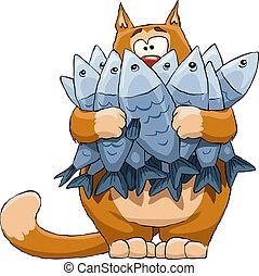 fish, kat