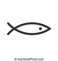 fish, kunst, abstrakt, beklæde