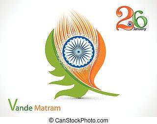 fjer, abstrakt, indisk, kunstneriske, flag