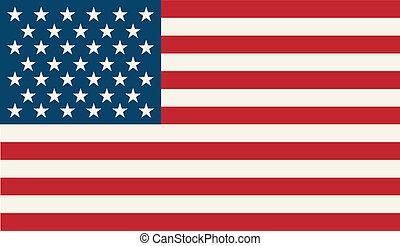flag, amerikaner