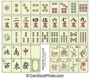 fliser, mahjong