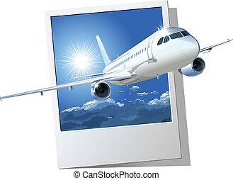 flyvemaskine kommercielle