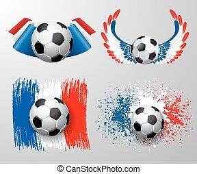 fodbold, mesterskab, frankrig