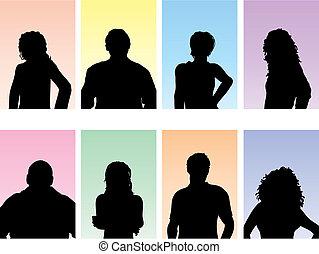 folk, avatars