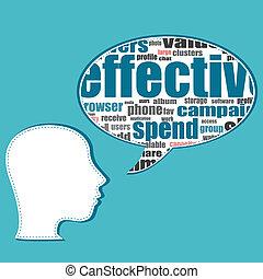 folk branche, medier, tale, sociale, bobler, samtalen