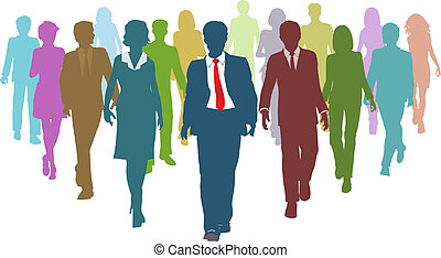 folk branche, miscellaneous, menneske, hold leder, ressourcer