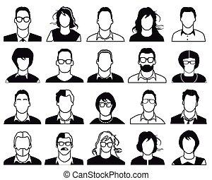 folk, iconerne