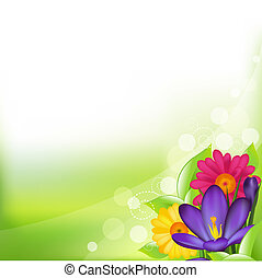 forår blomstr