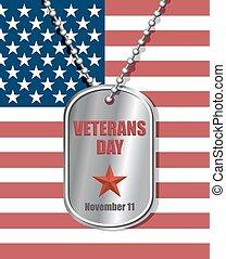 foren, illustration., graver, national, fastslår, america., emblem, soldater, baggrund, flag., patriotiske, medallion., ferie, dag veteraner