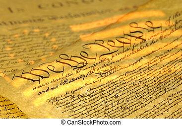 forfatning