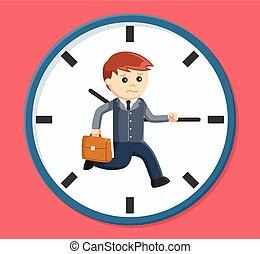 forretningsmand, rush time