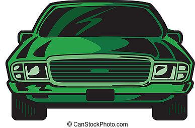 forside, automobilen