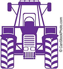 forside, traktor