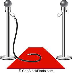 fri, -, rød gulvtæppe, admission